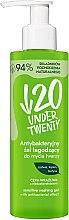 Profumi e cosmetici Gel detergente antibatterico - Under Twenty Anti Acne Sensetive Washing Gel With Antibacterial Effect