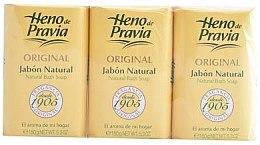 Profumi e cosmetici Heno de Pravia Original - Set (soap/3x150g)