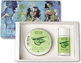 Profumi e cosmetici Set - Styx Naturcosmetic Aloe Vera (sh/gel/30ml + cr/50ml)