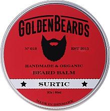 "Profumi e cosmetici Balsamo da barba ""Surtic"" - Golden Beards Beard Balm"