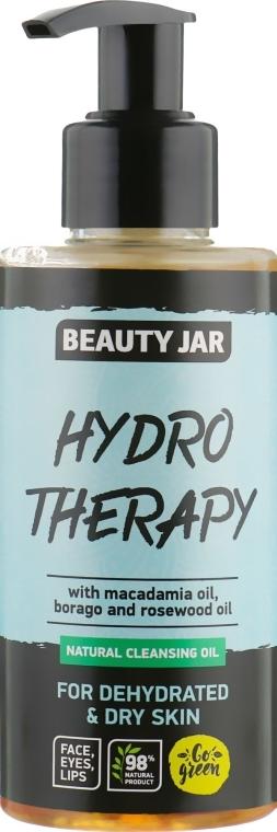 "Olio detergente per la pelle disidratata ""Hydro Therapy"" - Beauty Jar Natural Cleansing Oil"
