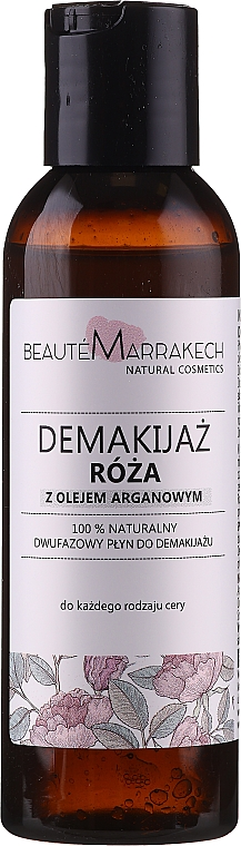 Struccante bifasico - Beaute Marrakech Natural Two-phase Make-up Remover Rose — foto N1