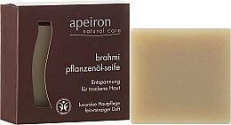 """Profumi e cosmetici Sapone naturale """"Brahmi"""" per la pelle secca - Apeiron Brahmi Plant Oil Soap"""