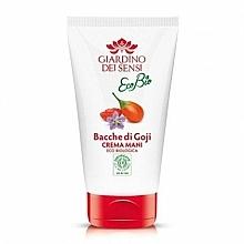 Profumi e cosmetici Crema mani - Giardino Dei Sensi Ecobio Goji Berries Hand Cream