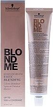 Profumi e cosmetici Crema schiarente per capelli grigi - Schwarzkopf Professional BlondMe White Blending