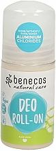"""Profumi e cosmetici Deodorante roll-on """"Aloe Vera"""" - Benecos Natural Care Aloe Vera Deo Roll-On"""