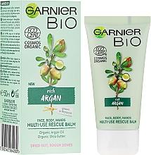 Profumi e cosmetici Crema viso e corpo multifunzione con olio di argan - Garnier Bio Rich Argan Multi-Use Rescue Balm