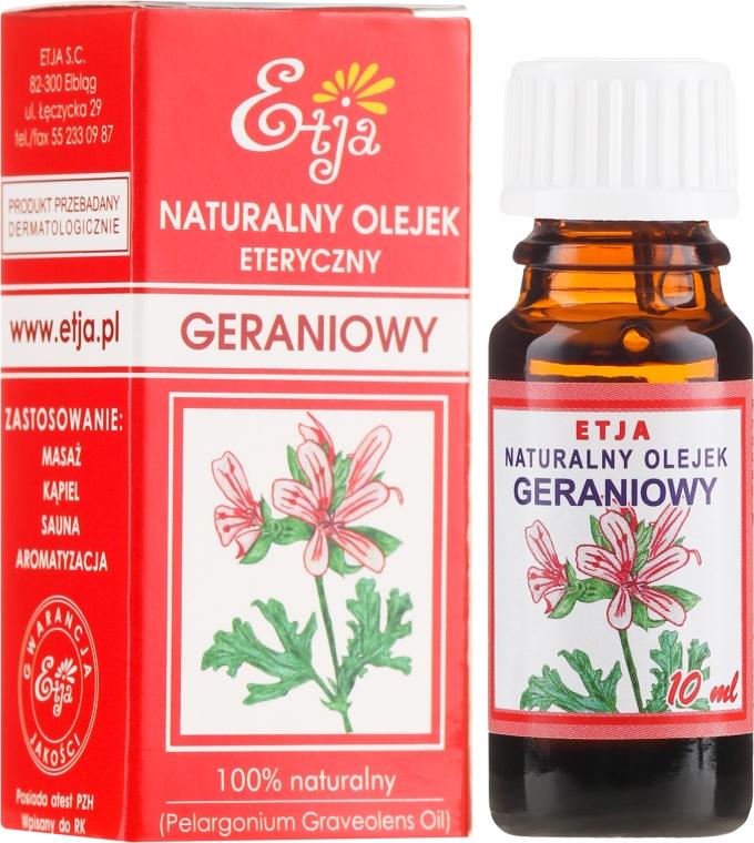 Olio essenziale naturale di geranio - Etja Natural Essential Oil