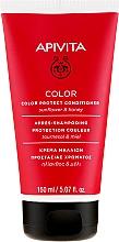 Profumi e cosmetici Balsamo per proteggere il colore dei capelli tinti con miele e girasole - Apivita Color Protect Conditioner With Sunflower & Honey