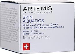 Profumi e cosmetici Crema contorno occhi - Artemis of Switzerland Skin Aquatics Moisturising Eye Contour Cream