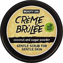 "Profumi e cosmetici Scrub viso per pelli sensibili ""Creme brulee"" - Beauty Jar Gentle Scrub For Gentle Skin"