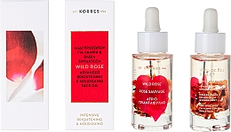 Profumi e cosmetici Olio viso, con rosa selvatica - Korres Wild Rose Advanced Brightening & NourIshing Face Oil