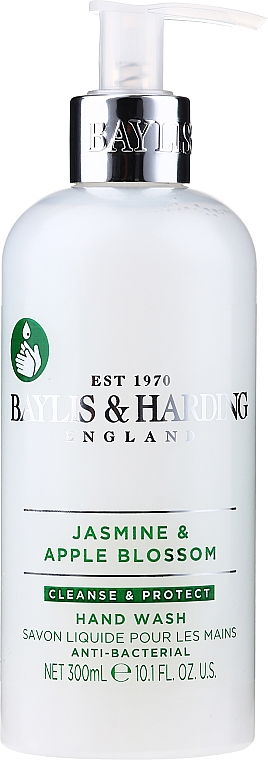 Sapone liquido mani - Baylis & Harding Jasmine and Apple Blossom Anti-Bacterial Hand Wash