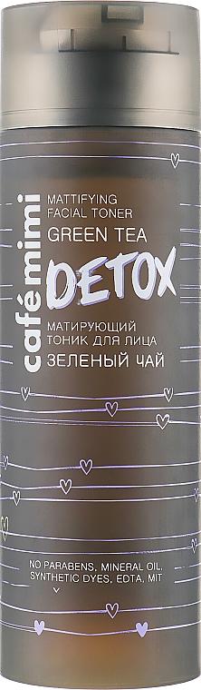 Tonico viso opacizzante al tè verde - Cafe Mimi Detox Mattifying Facial Toner