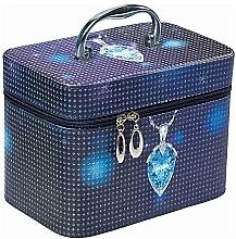 """Profumi e cosmetici Beauty case """"Jewerly Winter L"""", 96907, azzuro - Top Choice"""