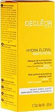Maschera emolliente per viso - Decleor Hydra Floral White Petal Skin Perfecting Hydrating Sleeping Mask — foto N2