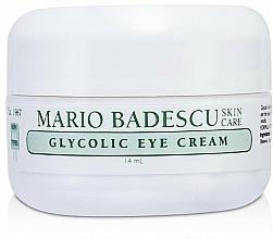 Profumi e cosmetici Crema contorno occhi glicolica - Mario Badescu Glycolic Eye Cream