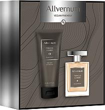 Profumi e cosmetici Allvernum Tobacco & Amber - Set (edp/100ml + sh/gel/200ml)