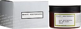 Profumi e cosmetici Crema viso idratante con aloe vera - Beaute Mediterranea Aloe Moisturizing Day And Night Cream