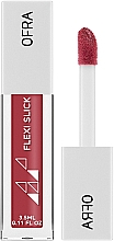 Profumi e cosmetici Lucidalabbra ibrido - Ofra Flexi Slick Hybrid Lipstick