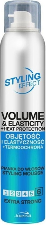 Mousse elasticizzante e volumizzante per capelli - Joanna Styling Effect Styling Mousse Extra Strong