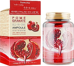 Profumi e cosmetici Siero tutto in uno all'estratto di melograno - FarmStay Pomegranate All In One Ampoule