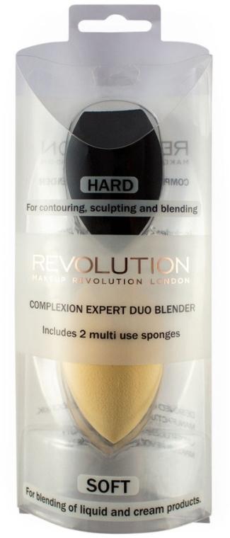 Set spugne per trucco - Makeup Revolution Complexion Expert Duo Sponge — foto N1