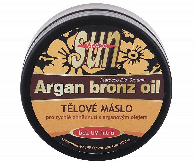 Olio abbronzante - Vivaco Sun Argan Bronze Oil Tanning Butter