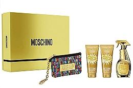 Profumi e cosmetici Moschino Gold Fresh Couture - Set (edp/100ml + b/lot/100ml + s/gel/100 ml + bag)