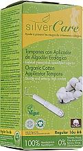 """Profumi e cosmetici Tamponi in cotone biologico """"Regular"""", 16 pezzi - Masmi Silver Care"""