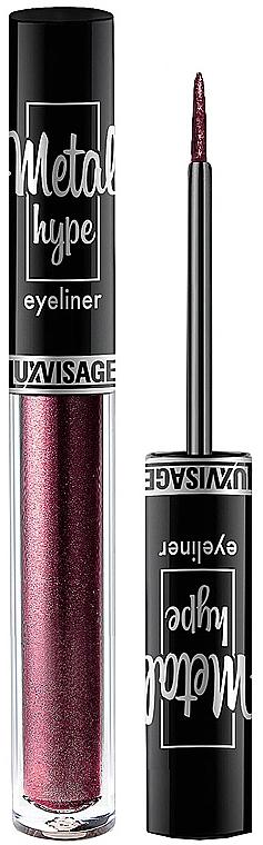 Eyeliner colorato - Luxvisage Metal Hype Eyeliner