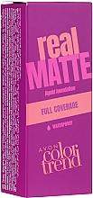 Profumi e cosmetici Fondotinta - Avon Real Matte Color Trend