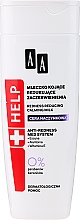 Profumi e cosmetici Latte lenitivo per la pelle capillare - AA Help Redness Reducing Calming Milk Vascular Skin