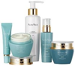 Profumi e cosmetici Set - Oriflame NovAge Skinergise Set (gel/150ml+eye/cr/15ml+ser/30ml+day/cr/50ml+/night/cr/50ml)