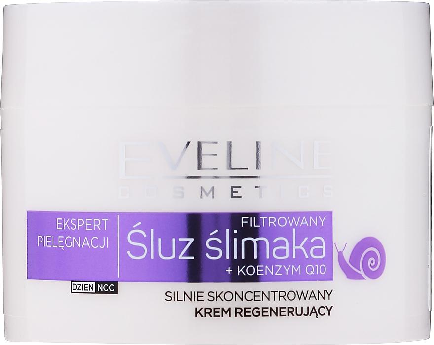 Crema viso antietà - Eveline Cosmetics Skin Care Expert Snail Slime Filtrate + Coenzyme Q10 Cream — foto N4