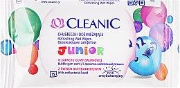 Profumi e cosmetici Salviette umidificate per bambini, 15 pz - Cleanic Junior Wipes