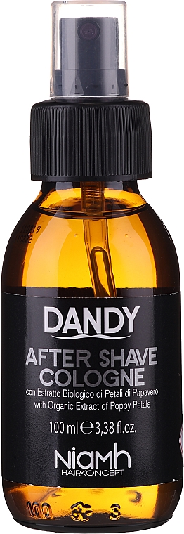 Colonia dopobarba - Niamh Hairconcept Dandy After Shave Aftershave Cologne