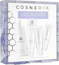 Profumi e cosmetici Set - Cosmedix Clarifying & Cleansing 4-Piece Essentials Kit (f/cleanser/60ml + f/ser/15ml + f/mask/30g + f/cr/15ml)