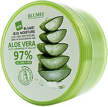 Profumi e cosmetici Gel lenitivo all'Aloe Vera - Blumei Jeju Moisture Aloe 97% Soothing Gel