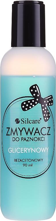Solvente senza acetone - Silcare Acetone-Free Nail Polish Remover