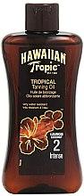 Profumi e cosmetici Lozione accelerante di abbronzatura - Hawaiian Tropic Sun Tan Oil Intense SPF 2