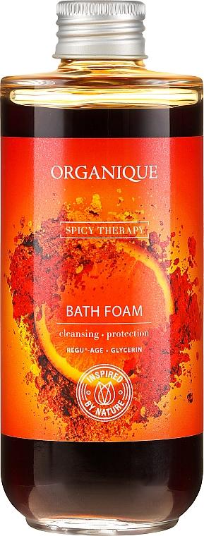 Schiuma da bagno idratante piccante stimolante - Organique Spicy Therapy