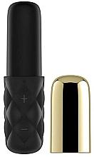 Profumi e cosmetici Mini vibratore, nero-oro - Satisfyer Mini Lovely Honey