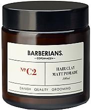 Profumi e cosmetici Pomata capelli all'argilla - Barberians. №C2 Hair Clay Matt Pomade
