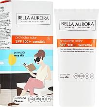 Profumi e cosmetici Crema solare - Bella Aurora Solar Protector Sensible SPF100+