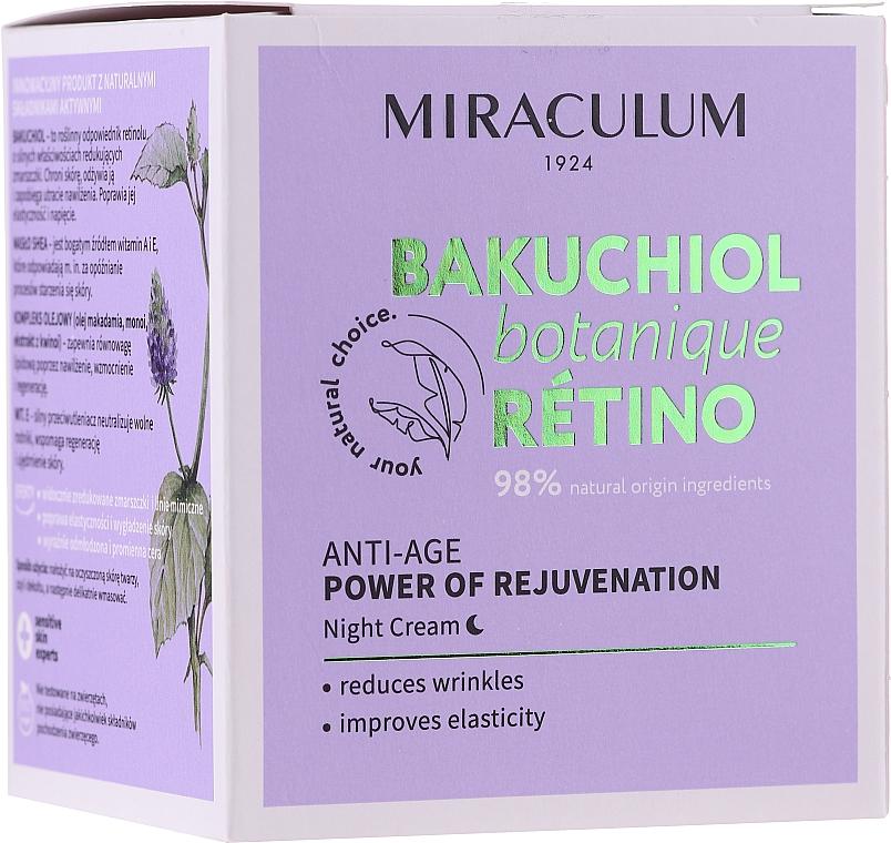 Crema viso da notte - Miraculum Bakuchiol Botanique Retino Anti-Age Cream