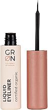 Profumi e cosmetici Eyeliner liquido - GRN Liquid Eyeliner Black Tourmaline
