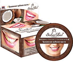 Profumi e cosmetici Dentifricio con cocco - Sabai Thai Herbal Coconut Toothpaste