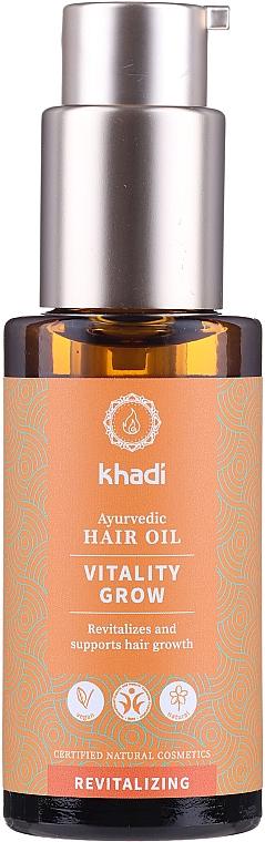 Olio per capelli rivitalizzante - Khadi Ayurvedic Vitality Grow Hair Oil