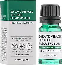 Profumi e cosmetici Olio viso - Some By Mi 30 Days Miracle Tea Tree Clear Spot Oil